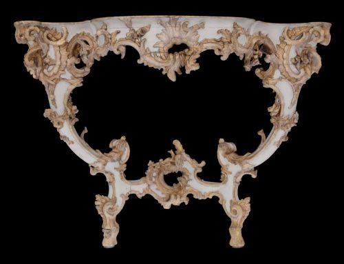 Antique rococo furniture